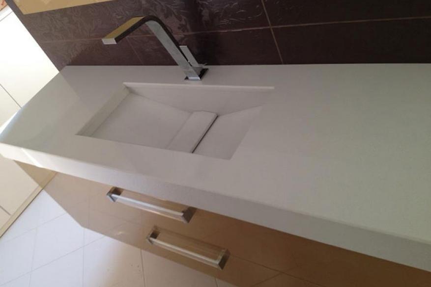 2013 Έπιπλο μπάνιου AURORA SNOW & AURORA DRIFT HanStone