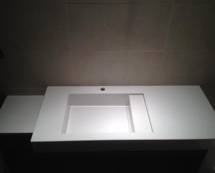 2010 Έπιπλο μπάνιου BIANCO CANVAS HanStone